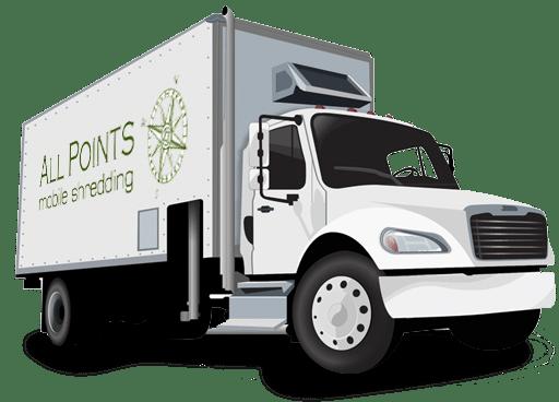 All Points Mobile Shredding Truck
