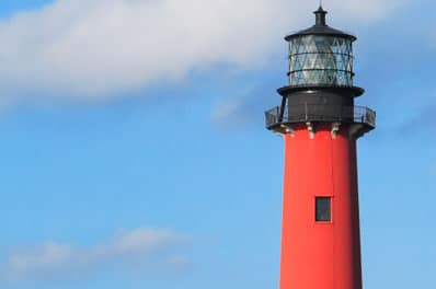 Light House Located in Jupiter, Florida