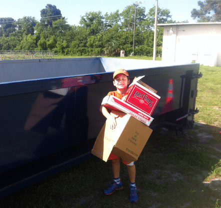 Youth Helping Out Community Shred Day