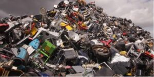 Ewaste ready for disposal in Florida